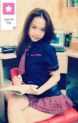 My school's uniform ...