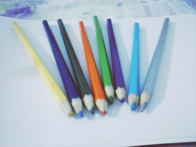 Colors Pencil Color Lapis