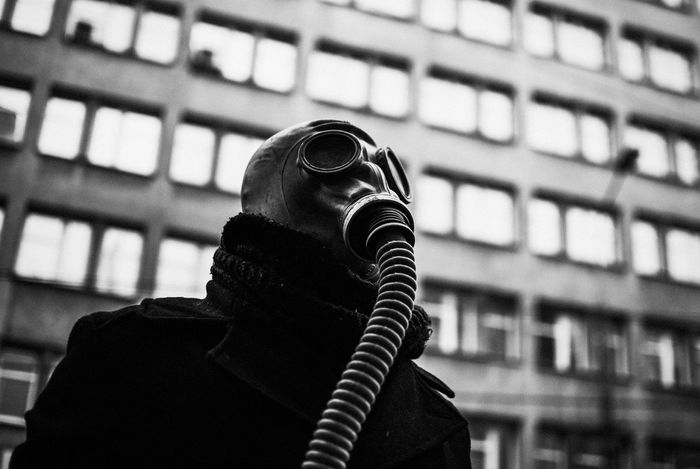 Air Quality Breath Building Story City Energy Europe Gas Mask Health Light  And Shadow Nikon Politics