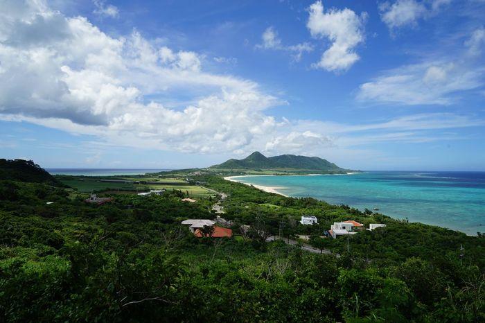 沖縄県 ( Okinawa ) 石垣島 ( Ishigaki  Ishigaki Island Ishigakijima )の 玉取崎展望台 ( Tamatorizaki )の風景です