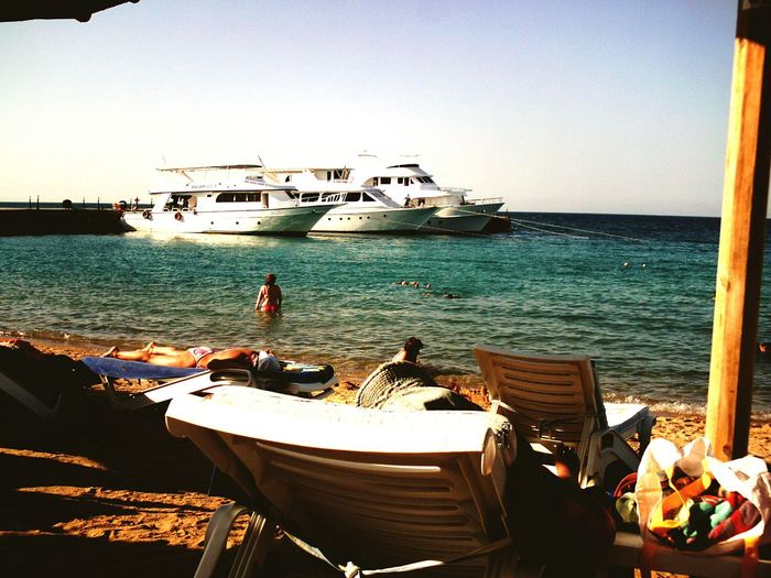 Beautiful Nature Ozean Sea And Sky Seascape Mare ❤ Red Sea Sea_collection Eiland Blue Like The Ozean Nature Photography Ägypten Red Sea