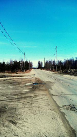 Дорога Road Медгора карелия Karelia