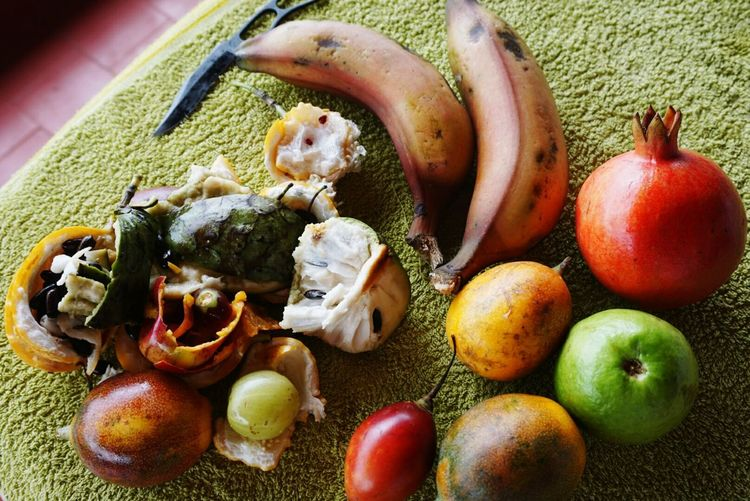 Fruit Tropical Tree Tomato Passionfruit Cherimoya Redbanana Guava  Pomegranate Kerala
