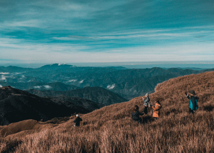Mt. Pulag #EyeEmSelects #EyeemPhilippines #EyeEmBestShots #eyeemweeklyselects Go Higher Landscape Mountain Environment Land Scenics - Nature Nature Beauty In Nature High Angle View Mountain Range People Cloud - Sky Summer Exploratorium