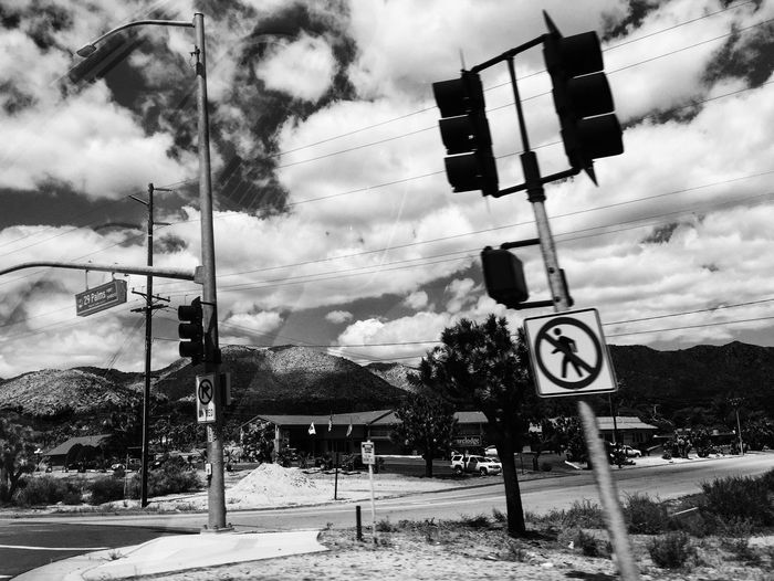 Shooting from the passenger seat Showcase April Clouds And Sky Other Desert Cities From The Car Window On The Road Monochrome Vscocam Blackandwhite Traveling
