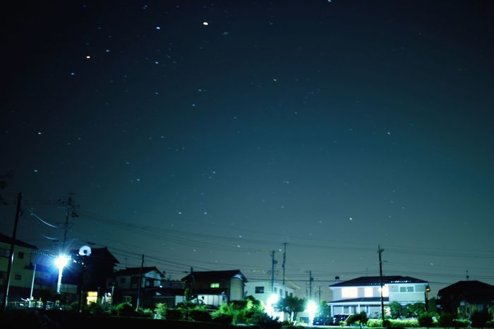 Beautiful Japan Canon Stately Gradation Star Night Sky