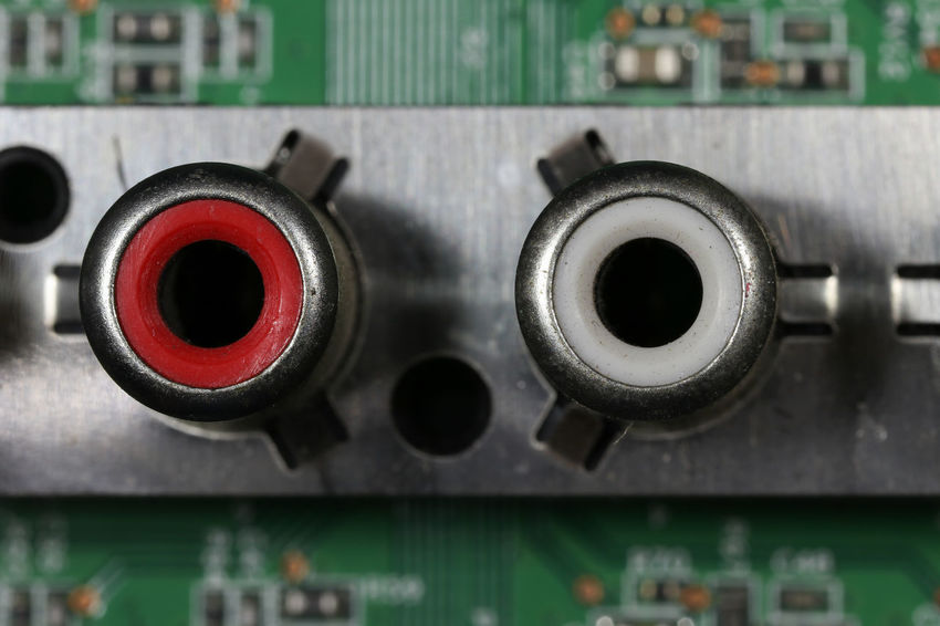 Audio Audio Equipment Electronic Motherboard. Motherboards Circuit Board Circuit Boards Close-up Complexity Computer Chip Computer Equipment Computer Part Connection Control Panel Electronic Equipment Electronics Industry Factory Industry Motherboard Inout Motherboard Technology