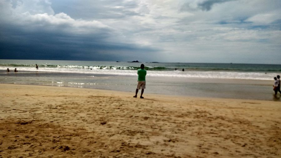#Atworldsends Beach Cloudy Coastline Horizon Over Water Sand Sea Sky Vacations