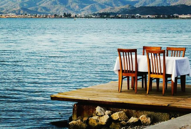 MyfirstEyemphoto Hello World Turkey In Fethiye F4F Sea Sun Blue Alone Hi! Myself Oldyear Nobody Nocry Relaxing Safe Near The Sea Mylife Myrules First Eyeem Photo PeopleOfTheOceans