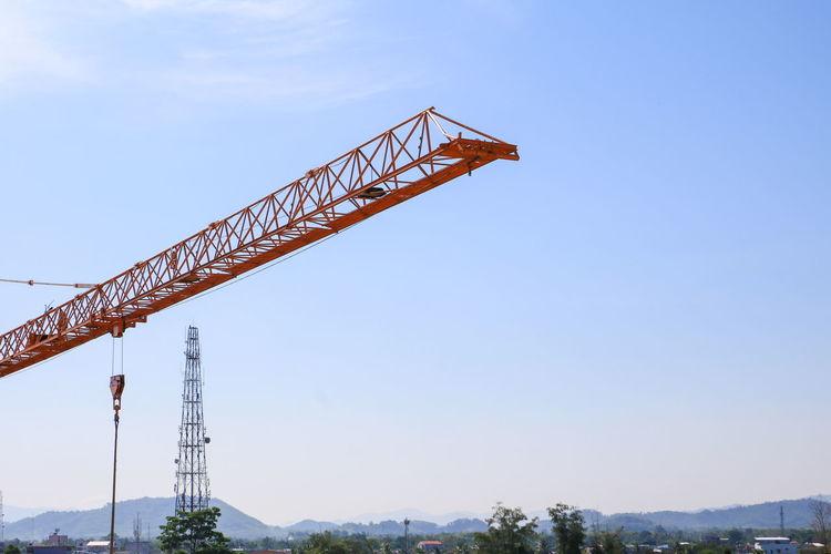 crane in