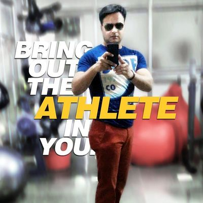 Bring Out The Athlete In You... Presentday Motivation Inspiration Nevergiveup Inspireothers Gym Homegym Rajeevkumar Rajeev August28inc A28inc