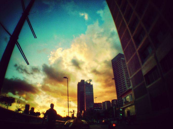 Relaxing Sunset Color Landscape #vscocam