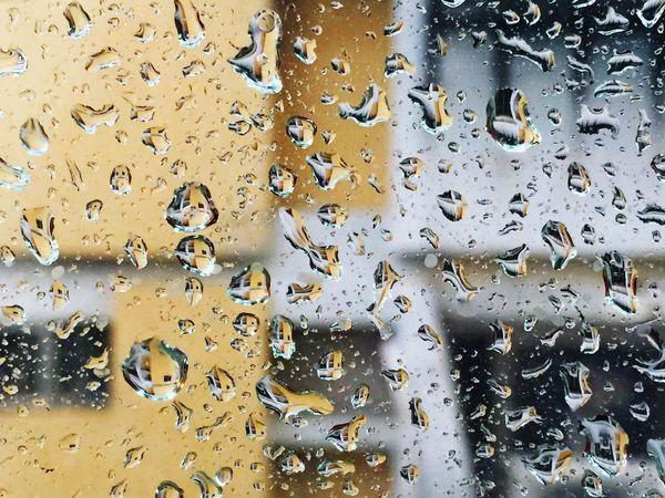 City 城市城事 Street 街 Rain 雨天 雨 窗 水珠