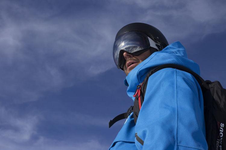 People Vitality Blue Men Day Winter Val D'Aran Snowboarding Valley Freeride Freestyle White Wintertime Nature Mountain Portrait Portrait Photography Baqueira Snow The Portraitist - 2017 EyeEm Awards