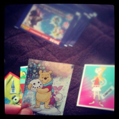 Wuuuuuhhuuuuu Sticker Karten Sammeln rewe glitzernde Karte kindheit love it thanks @joline0395. :))) hahhaha