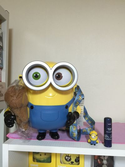 Minions BIG Osaka University OSAKA Minions Minion  Popcornbucket Minion Bob