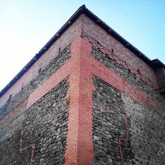 Belarus Lida  ліда  лида belarustravel oldtown castle old bricks