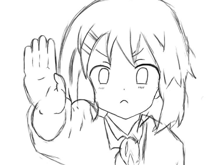 It been a while since i last drawing 💞 Anime AnimeDaisukiForLife OtakuAnime My Drawing Drawing Ibispaint