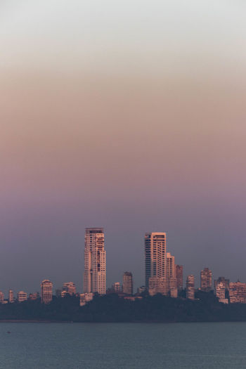 Architecture Building Exterior Built Structure City Cityscape Day Mumbai Nature No People Outdoors Sky Skyscraper Sunset Urban Skyline