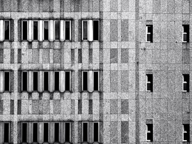 Facades Monochrome From My Point Of View