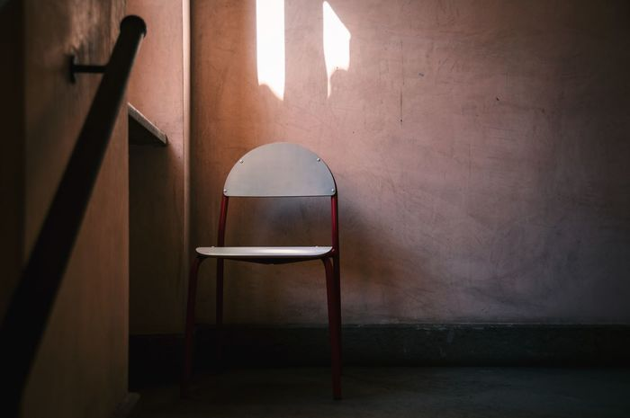 Entrance Indoors  Chair Empty No People Architecture Built Structure Museum Sutri Tuscia