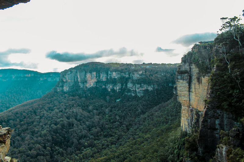 Architecture Australia Beauty In Nature Bluemountains Building Exterior Built Structure Day History Katoomba Katzen Landscape Mountain Mountain Range Mountains Mountains And Sky Nature No People Outdoors Scenics Sky Summer Tranquil Scene Tranquility Travel Destinations Tree
