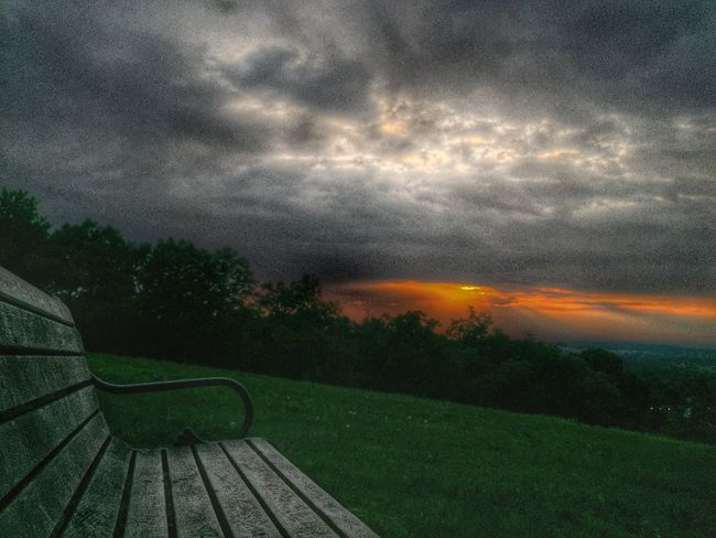Front Row Seat Sunset Scenics Sky Beauty In Nature Landscape Cloud - Sky Cloud Moody Sky Dramatic Sky IPhoneography Iphone 6 Plus IPhone 6+