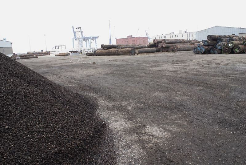 Day Industrial Port Industry No People Nutshell Outdoors Raw Materials Sky