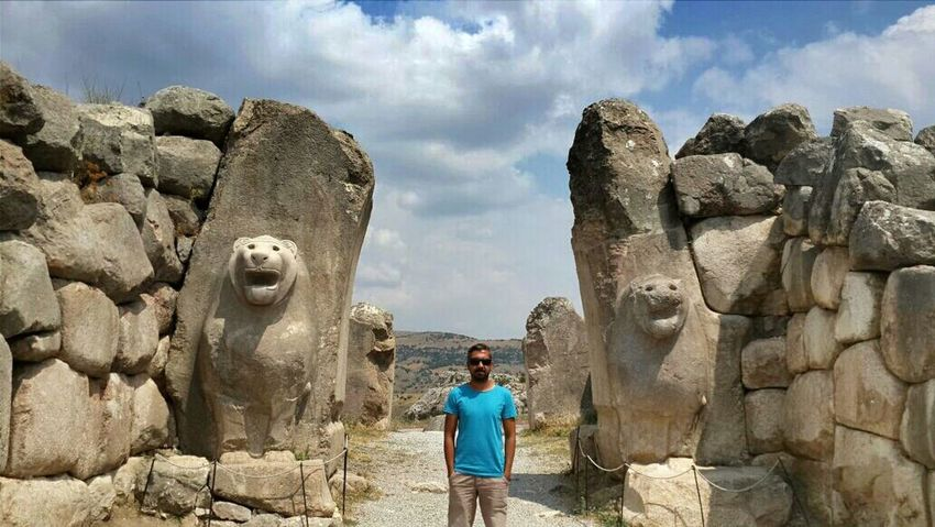 Hattuşa Aslan kafalı Sfenks çorum Hitit That's Me Hi! Historical Building Taking Photos Turkey Travel Photography Vscoturkey Vscocam Vsco