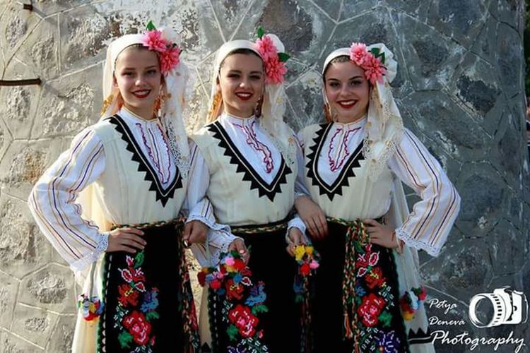 No Filters Needed Bulgarian Dancers Bulgaria Dancers♡ Bulgarian Folklore Before Stage Love