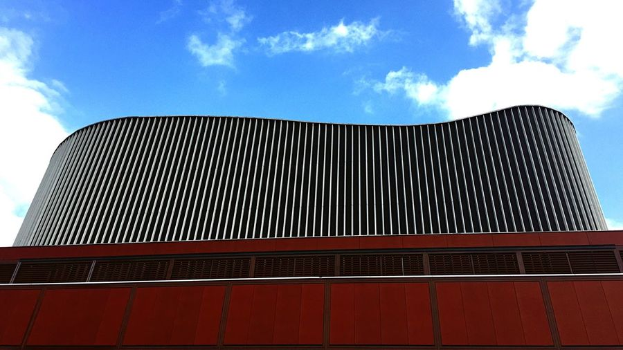 The Architect - 2017 EyeEm Awards Low Angle View Architecture Built Structure Sky Modern Outdoors Day Building Exterior No People City IPhoneography BYOPaper! The Street Photographer - 2017 EyeEm Awards Architecture The Graphic City