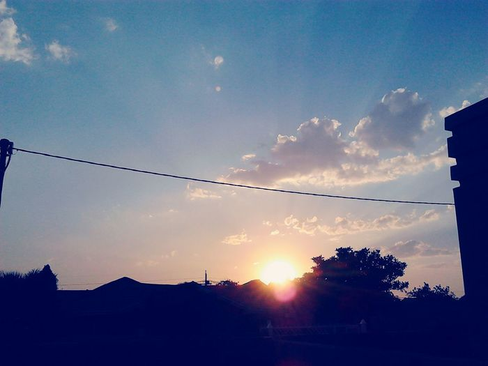 Perfect Sunset: 17 October 2015 in Block WW Check This Out First Eyeem Photo