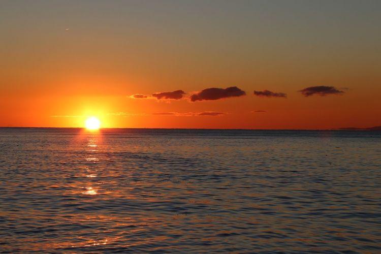 Sunrise in Victoria Victoria Sea Beauty In Nature Sun Nature