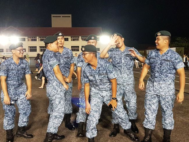 Sembawang Camp Sept 2017 Graduation After Graduation Basic Military Training My Son Airforce Streetphotography Sg_streetphotography Singapore