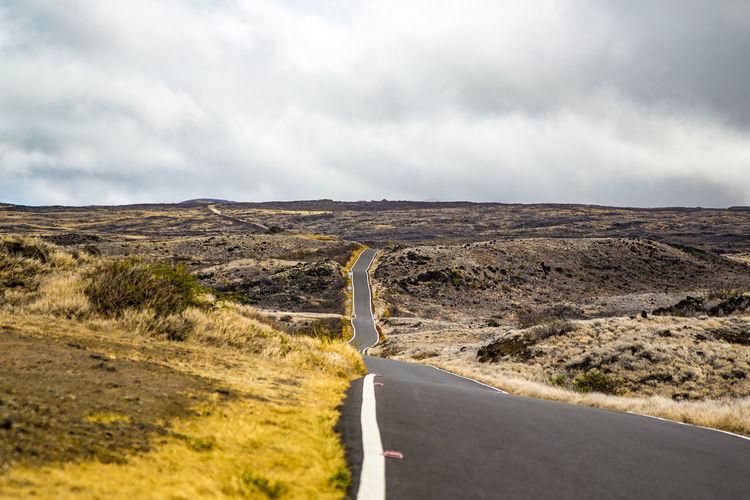 Cloud - Sky Curve Landscape Maui No People Outdoors Road Scenics Sky The Way Forward Winding Road