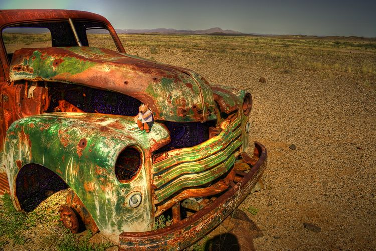 Namibia Mario's Namibia Desert Car Lostplace Forgotten Things