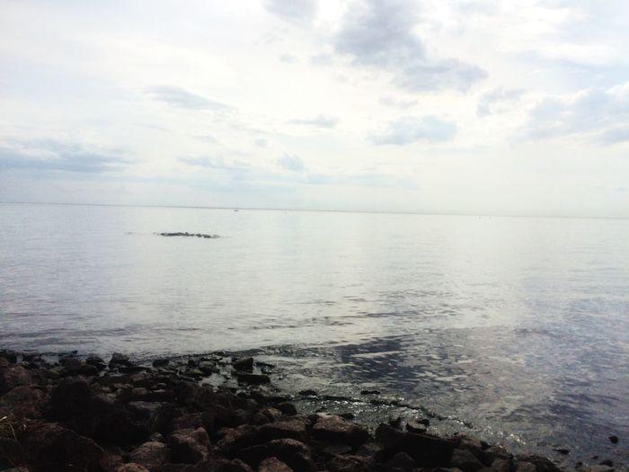 Water Sky Sea Cloud - Sky Horizon Over Water Scenics - Nature Horizon