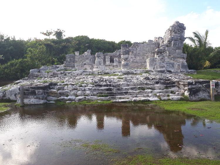 zona arqueológica el rey Arqueology Water Sky Outdoors Nature Cloud - Sky No People Agriculture