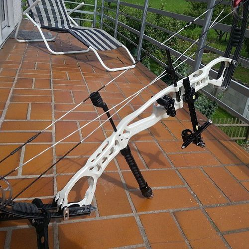 My new Hoyt AlphaElite Compoundbow . Ain't she just pretty! TimTalyor ToolTime Power