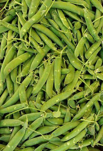 Full frame shot of peas