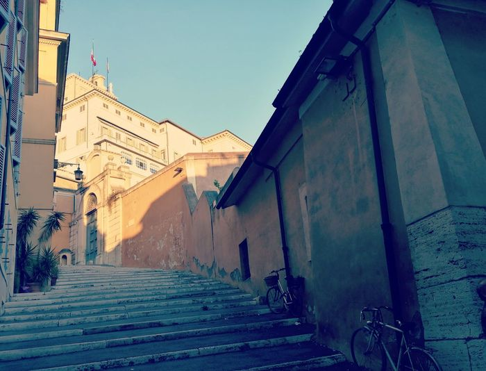 Building Exterior City Outdoors Sky Architecture No People Day Quirinale Rome Italy