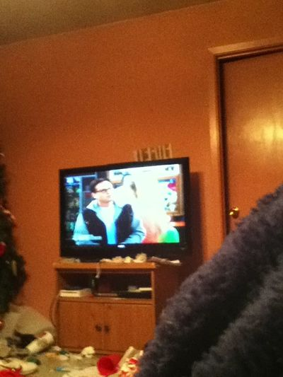 Watching The Big Bang Theory