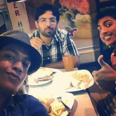 Hats are Cool and so are Friends Oldschool bigburgers burgerhub lahore