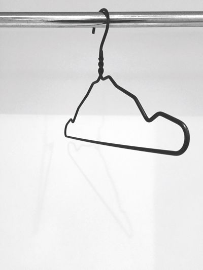 Coat Hangers Hanger Blackandwhite Black And White Black & White Minimalism