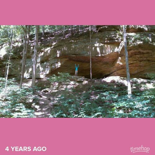 Hiking at TurkeyRun . Indiana Statepark