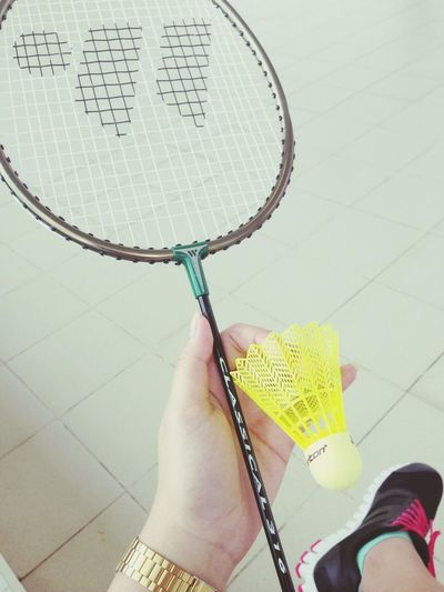 time for some badminton! ^~^ Sports
