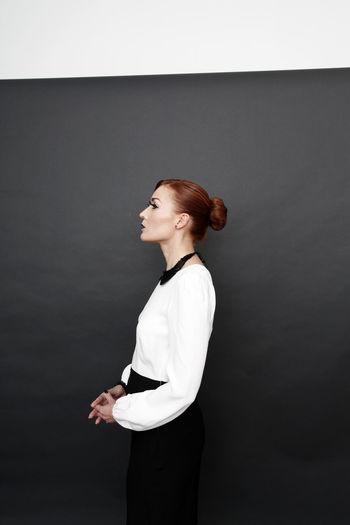 Girl, Model, Woman, Pose, Fashion, Art, Redhead, Model, Studio, First Eyeem Photo