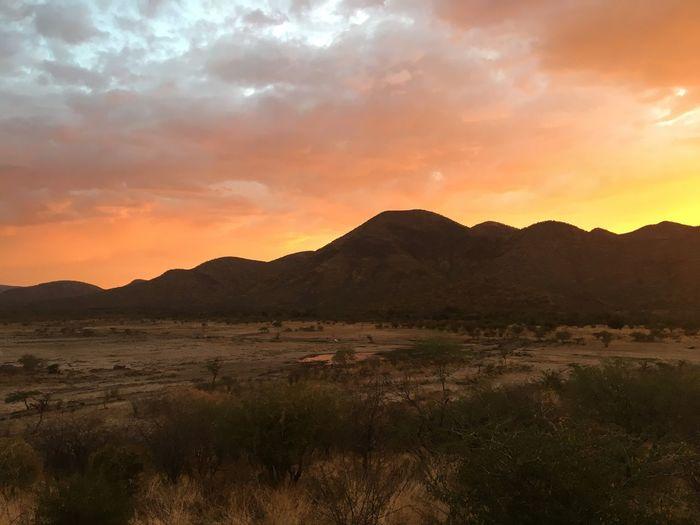 Namibia Landscape Namibian Sky NamibianSunset❤ Namibia Africa Mountain Scenics Beauty In Nature Mountain Range Sunlight, Shades And Shadows Perspectives On Nature EyeEmNewHere Postcode Postcards Rethink Things