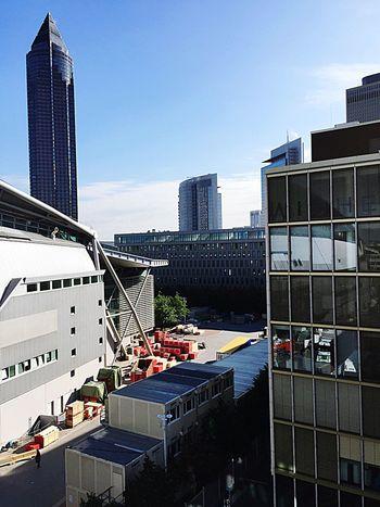 Ffm Frankfurt Am Main Bigbuildings Illuminati Everywhere Neworder