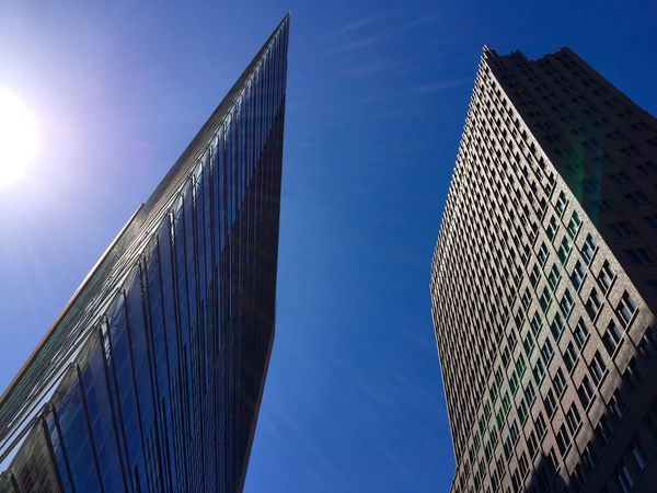 Berlin Deutsche Bank Office Building Office Skyscraper Buildings Building Flat Arsitecture Potsdamer Platz BuildingPorn The Architect - 2016 EyeEm Awards The Architect - 2017 EyeEm Awards